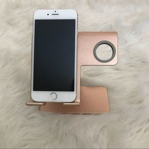 Rose Gold Phone Charging Stand
